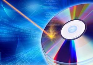 CD / DVD burning concept